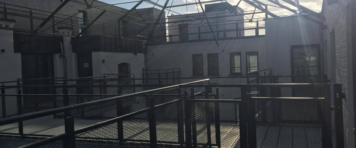 ArVD   stationlei   dakstructuur   Vilvoorde