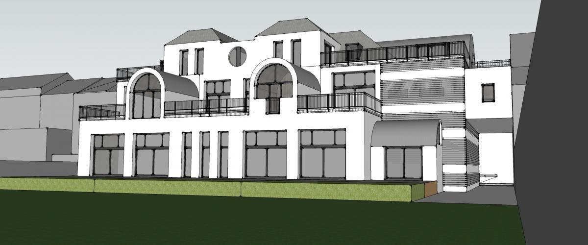 ArVD Architecture | Vincent Deketelaere | renovatie | Leopoldstraat Vilvoorde