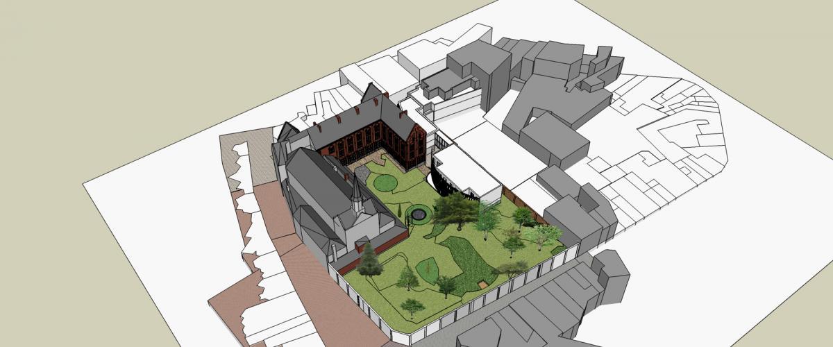 ArVD | home | Architecture | Vincent Deketelaere | renovatie | Nieuwstraat Halle | recolettenklooster