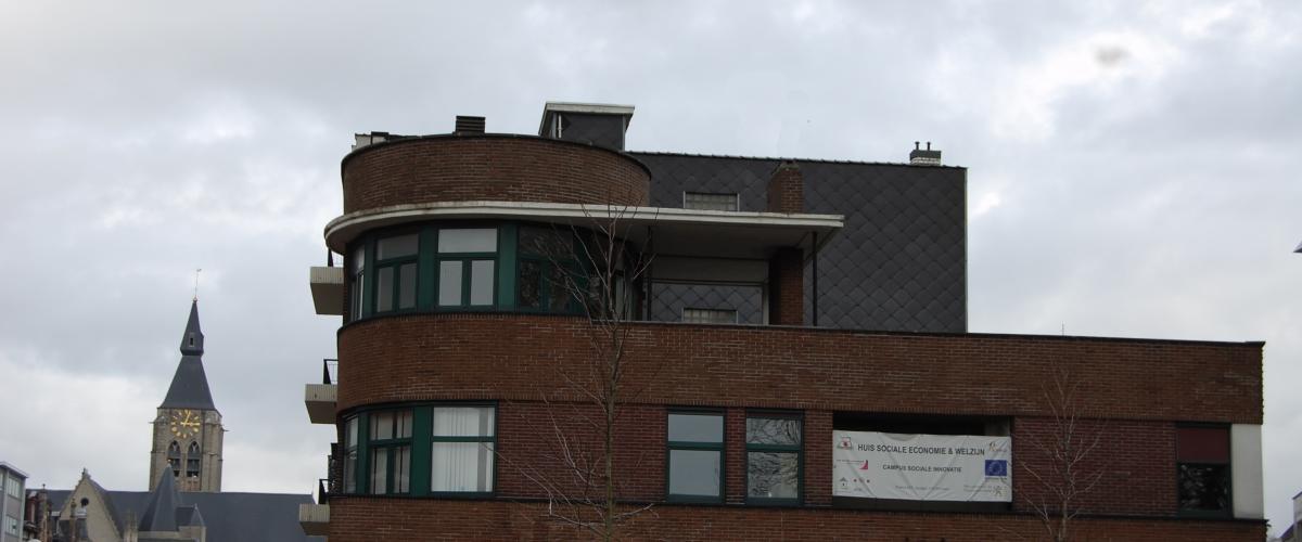 ArVD | home | Architecture | Vincent Deketelaere | Huis van Sociale Economie